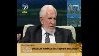 Kaç yaşında namaza başlanır? - Prof. Dr. Cevat Akşit