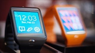 New Samsung Gear 2 Smartwatch | Mobile World Congress 2014