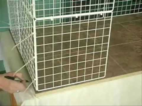 Free rabbit indoor hutch and cage plans: Introduction