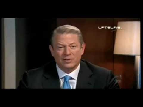 Al Gore: I'm not a vegetarian but I have cut back sharply on the meat that I eat on YouTube