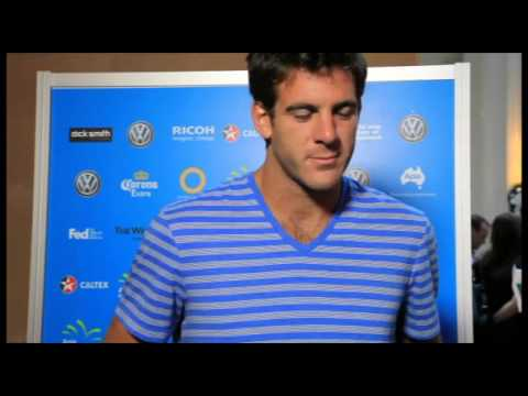 Del Potro Talks About Jetlag, the 2014 Season, and the Top 3