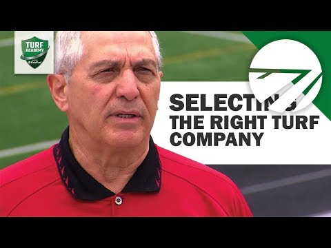 Choosing the Right Company to Build Your Turf Field
