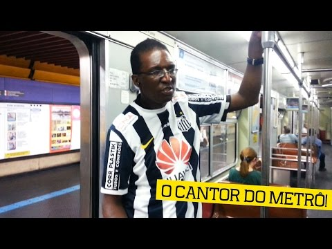 O misterioso cantor do metrô de SP!