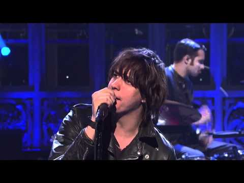 "(HQ) The Strokes - ""Under Cover Of Darkness"" 3/5 SNL (TheAudioPerv.com)"