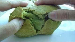 Bánh mì nhân kem trà xanh _ Matcha(Green tea) Lava bread