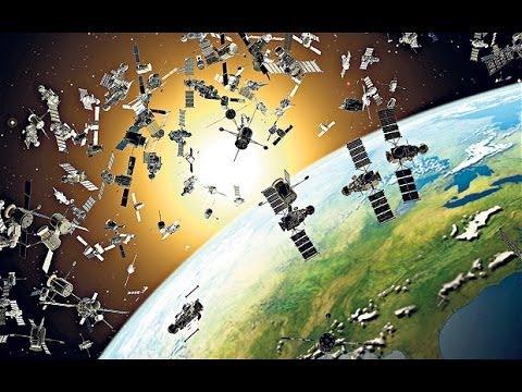 Huge Magnetic Net vs Space Junk