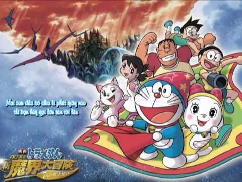 [Doraemon] Nobita và Chuyến phiêu lưu vào xứ quỉ [HTV3-Ending ost]