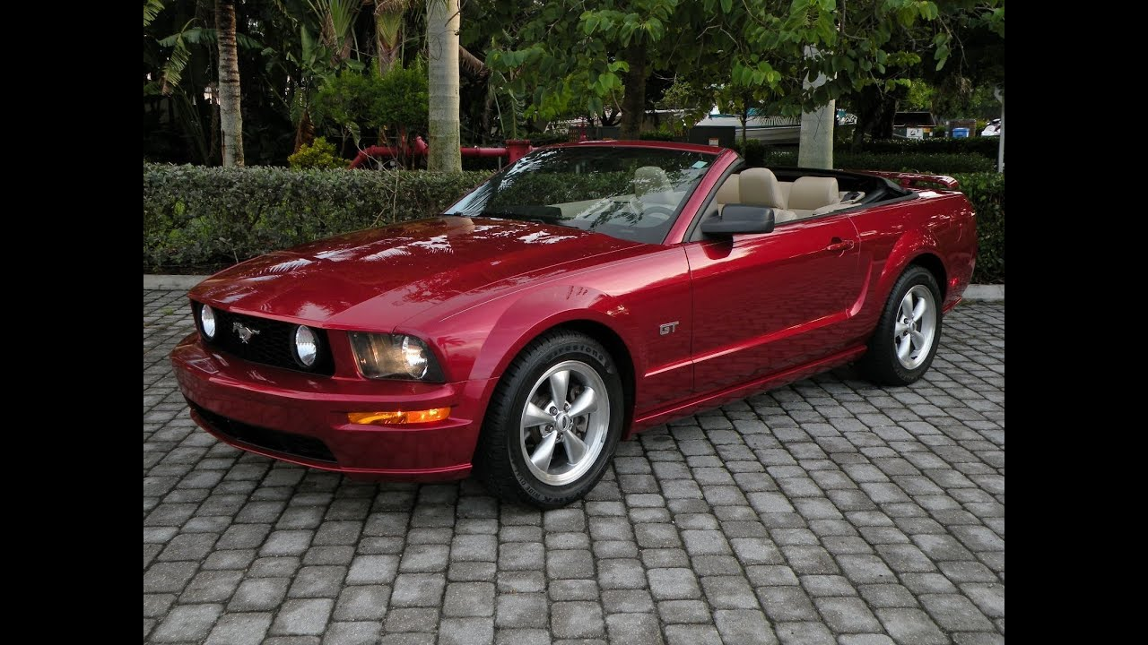 2006 ford mustang gt convertible for sale auto haus of fort myers. Cars Review. Best American Auto & Cars Review