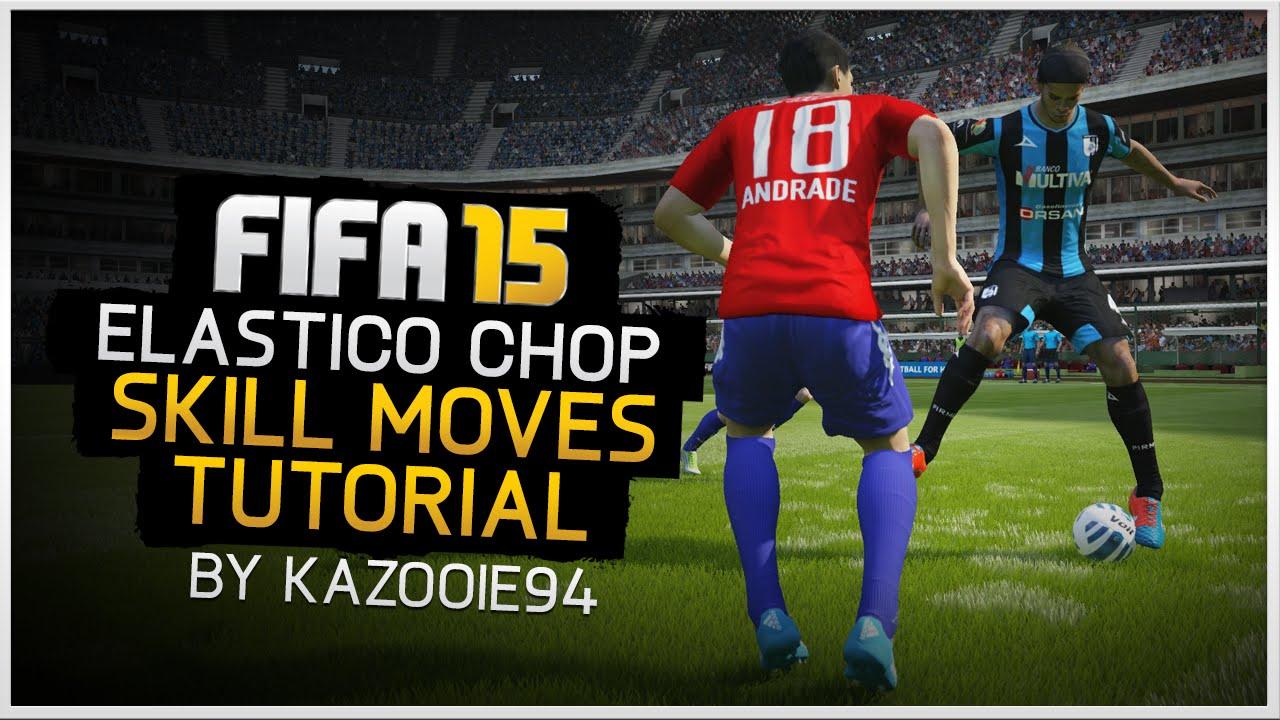 Как делать эластико в FIFA 15