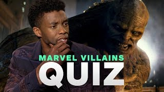 Marvel's Avengers: Infinity War Cast Take the Ultimate MCU Villains Quiz
