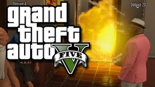 GTA 5 Online Moments – Birthday Party Disaster and Kevin Hart! (GTA V Funny Skits/Glitches!)
