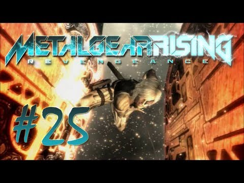 Metal Gear Rising: Revengeance Lets Play  EP 25 - Raiden Gets Pwnd... Again...