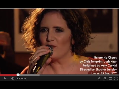 Before He Cheats online metal music video by AMY CERVINI