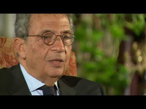 AMR MOUSSA ' NEW EGYPTIAN CONSTITUTION MARKS NEW ERA' - BBC NEWS