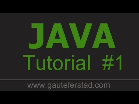Java Programming Tutorial 01 Installing JDK - YouTube
