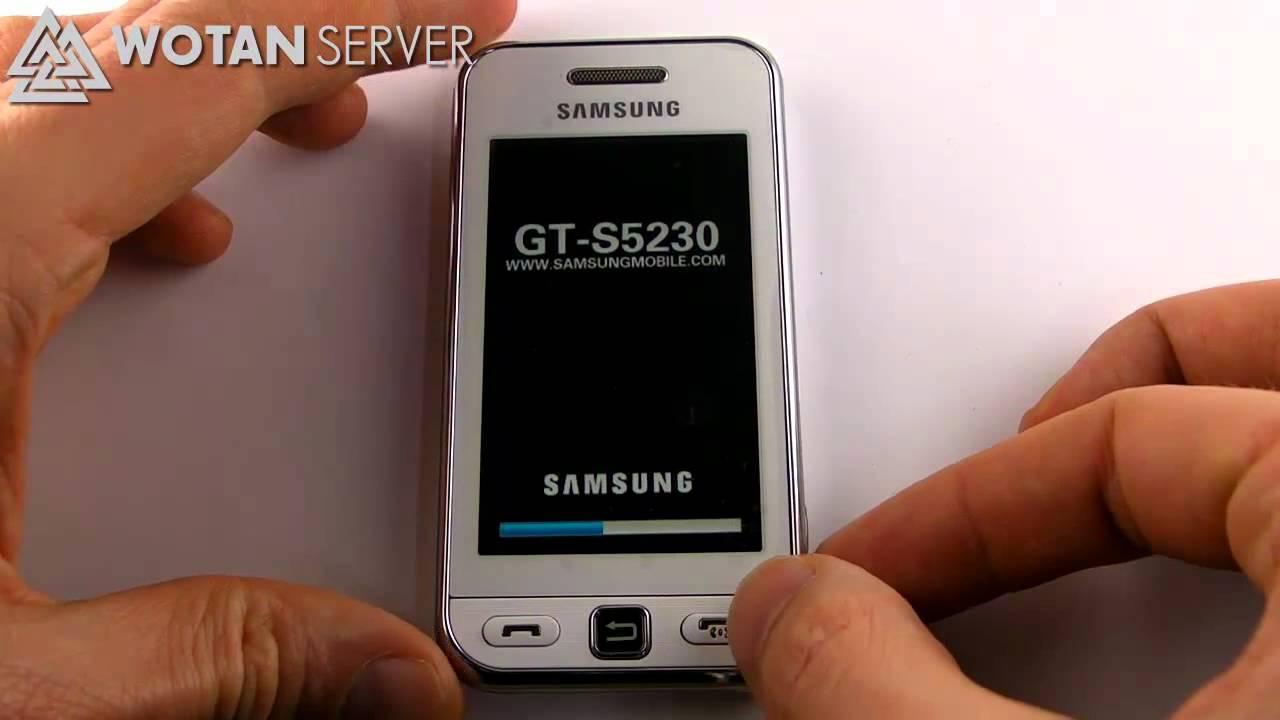 Мобильный телефон refuribished samsung s5230 s5230c la fleur 30 bluetooth s5230