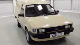 A Perfect Austin Maestro 500L City Van in Show Condition, Just 23,368 Mile, Full History - SOLD