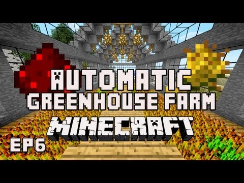tutorial: Minecraft Tutorial:  How To Build An Automatic Redstone Wheat Farm   (House Project Part 29)