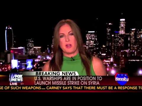 Showdown With Syria - Leslie Marshall on Hannity 8/27/13