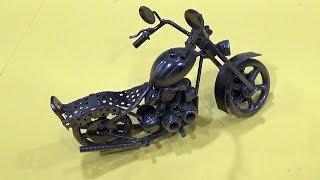 Como hacer una moto en miniatura 1
