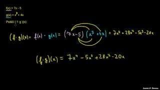 Produkt dveh funkcij
