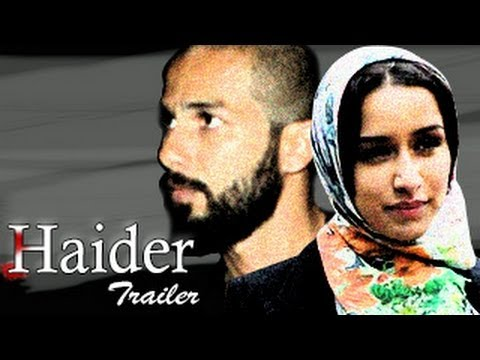 Haider OFFICIAL TRAILER | Shahid Kapoor & Shraddha Kapoor -  Haider Movie OFFICIAL TRAILER RELEASED