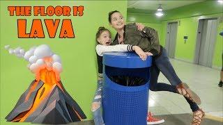 The Floor is Lava! 🌋 (WK 336.2) | Bratayley
