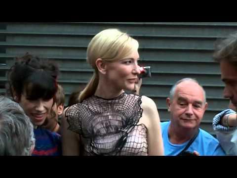 Cate Blanchett Woody Allen Sally Hawkins Blue Jasmine première à Paris 27 aout 2013