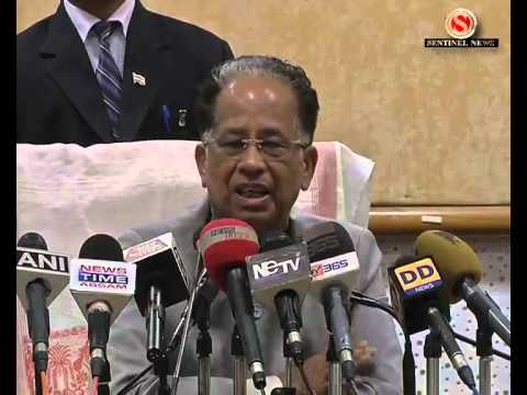 Tarun Gogoi r Press Meet Part 4