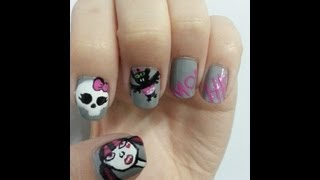 Unhas Decoradas :Monster High / Art Nail :Monster High