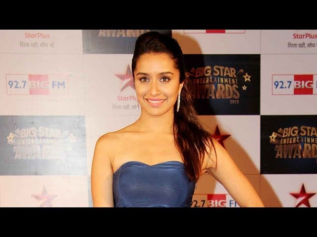 Video | 4th Big Star Entertainment Awards | Shraddha Kapoor