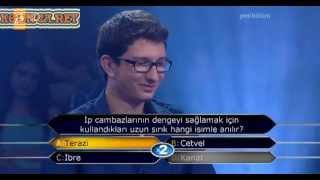 Kim Milyoner Olmak Ister 251. bölüm Mustafa İlker Saraç 16.07.2013