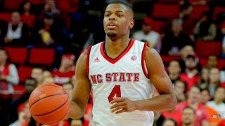 Most Explosive Player in College Basketball    NC State PG Dennis Smith Jr. 2016-17 Highlights ᴴᴰ
