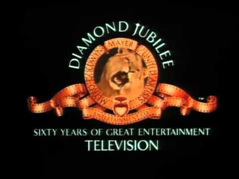 mgm television logo quotdiamond jubileequot 60th anniversary