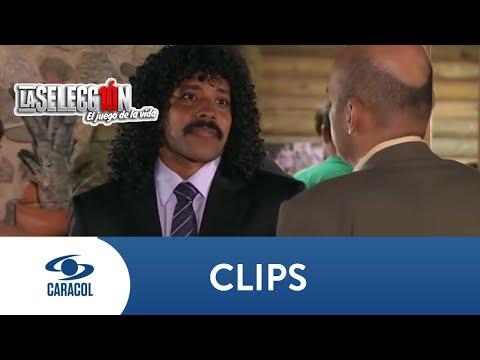 Higuita enfrenta al ayudante de Pablo Escobar - La Selección