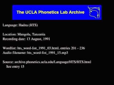 Hadza audio: hts_word-list_1991_15