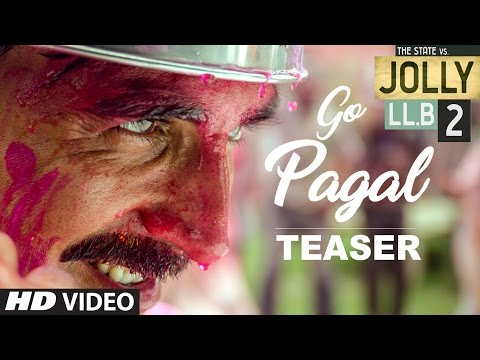 youtube video Jolly LL.B 2 | GO PAGAL Song Teaser  | Akshay Kumar | Subhash Kapoor | Huma Qureshi to 3GP conversion