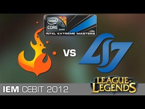 IEM World Championship CLG vs. CURSE (League of Legends)
