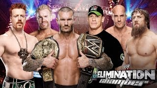 WWE 2K14: WWE Elimination Chamber 2014: 6 Man Elimination