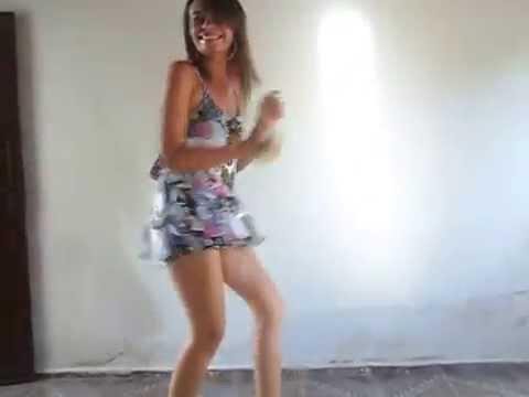 Kelly Bonfin Dançando Senta Ana Tereza