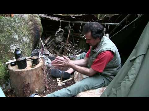 Primitive Survival - The Handdrill Fire (Real Time)