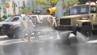 الرئيس السيسي يتفقد نماذج معدات القوات