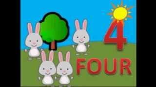 La Cancion De Los Numeros En Ingles,del 1 Al 5 Para Niños