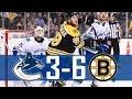 Canucks vs Bruins Highlights Oct 19 2017 HD