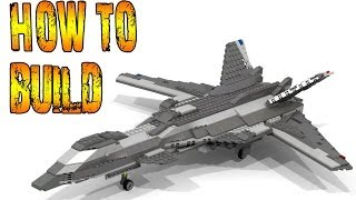 HOW TO BUILD A Futuristic Fighter LEGO