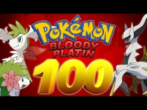 Let's Play Pokémon Bloody Platin - Part 100 - Jubiläums-Part mit Event-Power!