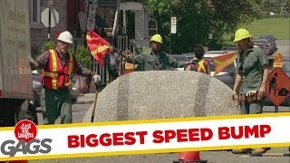 World&#39s Biggest Speed Bump