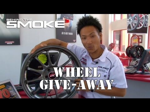 Behind The Smoke 3 - Ep19 - Wheel Give-Away & America's Tire Store Vis