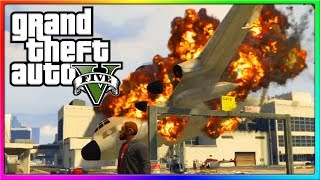 GTA 5 Online - EXPLOSIONS, Hot Wings Argument, and other Funny Moments! (GTA Online)