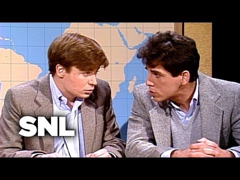 Mike Myers and Ben Stiller - Saturday Night Live